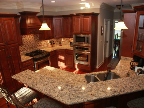 Add Sheer Brilliance To Your Decor With Custom Kitchen Cabinets Designs
